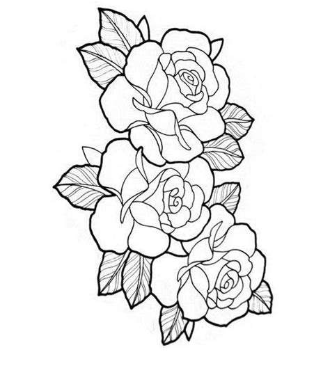 roses tattoo outline pin by виктория уткина on тату