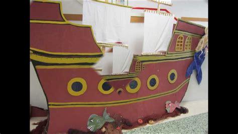 barco pirata hecho en carton o barco pirata de infantil proxecto o mar curso 2012
