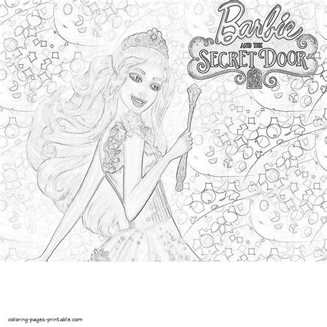 coloring pages of barbie and the secret door barbie coloring pages fairy door coloring page in coloring