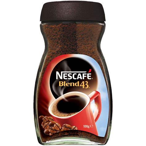 Kitchen Aid Cabinets by Nescafe Blend 43 Instant Coffee Jar 100g Ebay