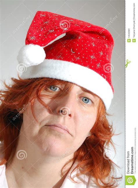 imagenes de navidad sola sola mujer triste de la navidad imagen de archivo imagen