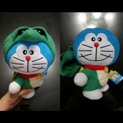 Limited Boneka Doraemon Impor jual boneka mainan doraemon kostum turtle hijau lucu murah impor ori twintoys