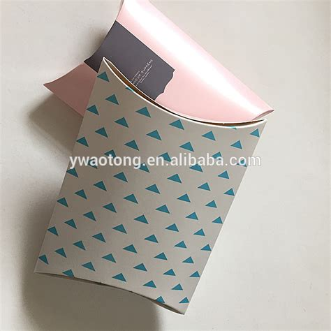 Buy Pillow Boxes by Wholesale High Quality Cheap Gift Recycled Paper Pillow