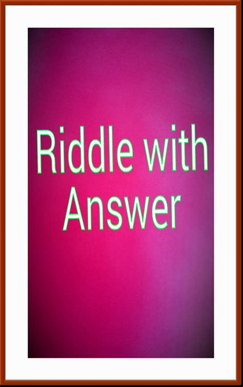 hard riddles with answers image gallery hard riddles with answers