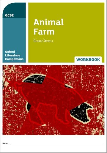 oxford literature companions animal 0198304838 oxford literature companions animal farm workbook oxford university press