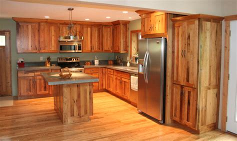 Antique Reclaimed Chestnut kitchen cabinets Traditional Kitchen other metro by K.D