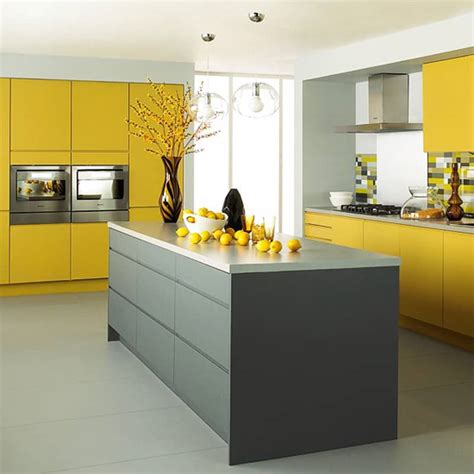 yellow kitchen design 25 modern yellow kitchen designs