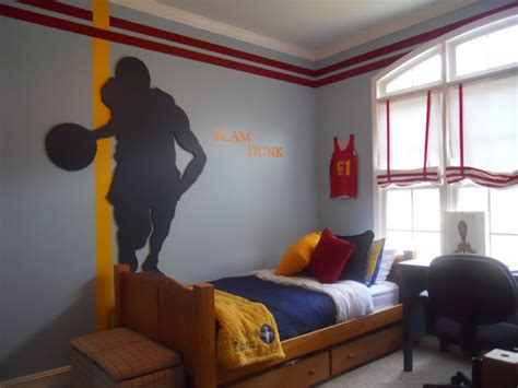 basketball bedroom ideas slam dunk boys room design dazzle