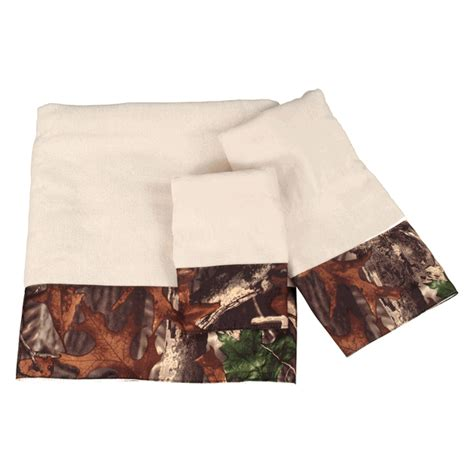 camo bathroom decor 3 camouflage towel set