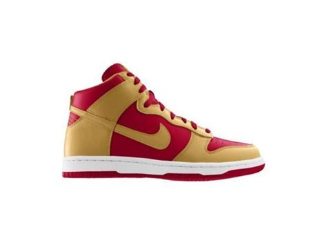 Handmade Shoes San Francisco - 49er shoes dunk high nfl san francisco 49ers id
