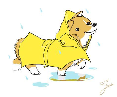 Exo Chibi Sticker By 5g 5g corgi in a raincoat by joieart on deviantart