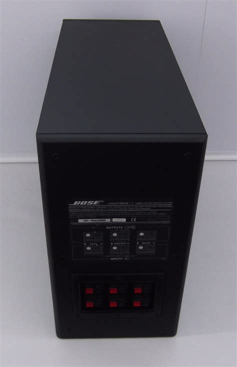 bose acoustimass  home theater system subwoofer