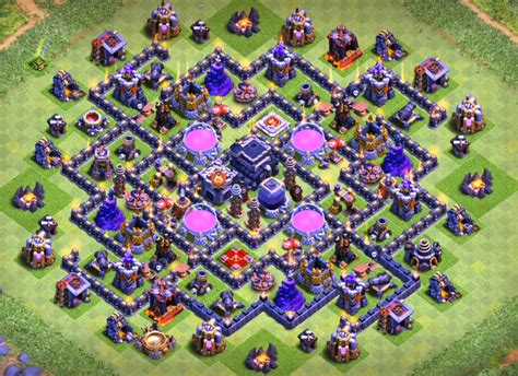 coc layout beginner coc th9 home base design brightchat co