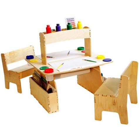 kids art table anatex double all in one art table for kids educational