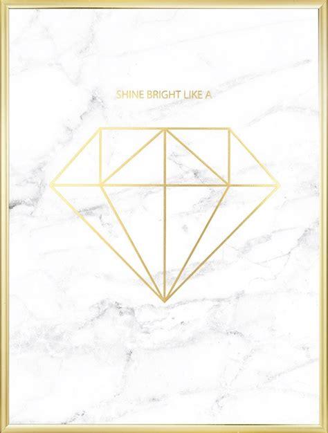 poster med diamant i guld och marmor fr 229 n desenio - Marmor Bilder