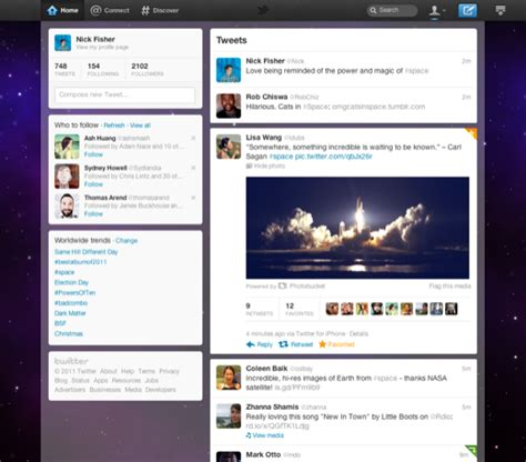 new twitter layout on iphone interaction design why is the new twitter menu bar on