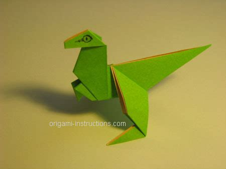 How To Make Dinosaur Origami - origami dinosaur easy driverlayer search engine