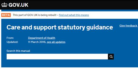 care and support statutory guidance gov uk category adults south gloucestershire safeguarding