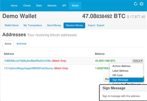 how to secure an online blockchain bitcoin wallet coin brief a ads blog new feature sign in with your bitcoin address
