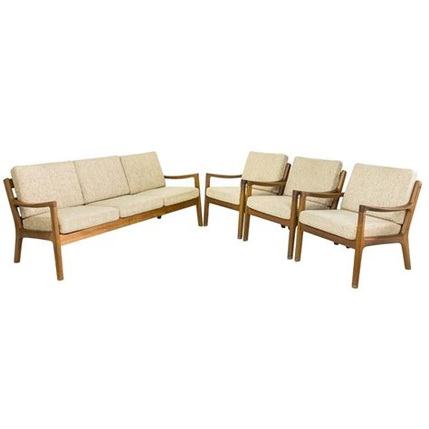 Sofa Karakter three seater sofa by ole wanscher for and