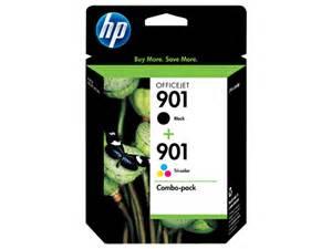 hp 901 color hp 901 2 pack black tri color original ink cartridges