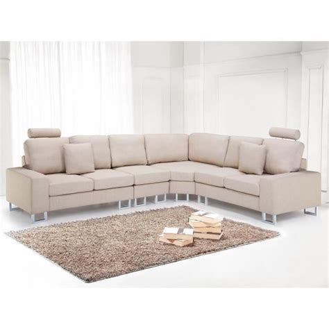 Canape Angle Beige by Canap 233 D Angle Canap 233 En Tissu Beige Sofa Stockholm