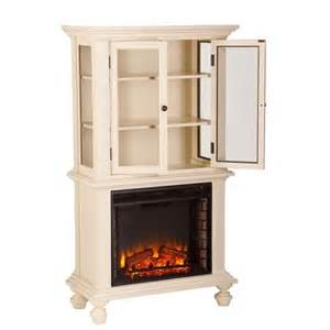 Electric Fireplace Bookcase southern enterprises townsend electric fireplace bookcase in white fe9828