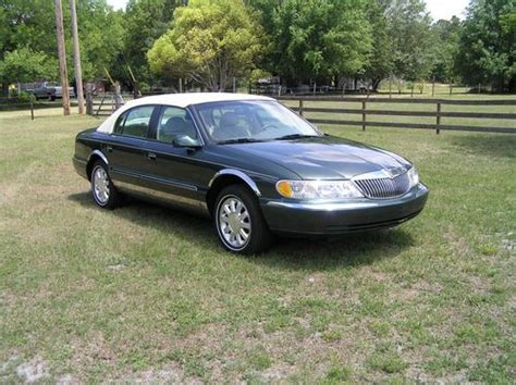 how to work on cars 1999 lincoln continental navigation system find used 1999 lincoln continental green in winter haven florida united states for us 5 700 00