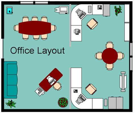 layout of the office foundation dezin decor home office layouts