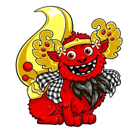 gambar tato barong bali barong cute 2 hellomotion com