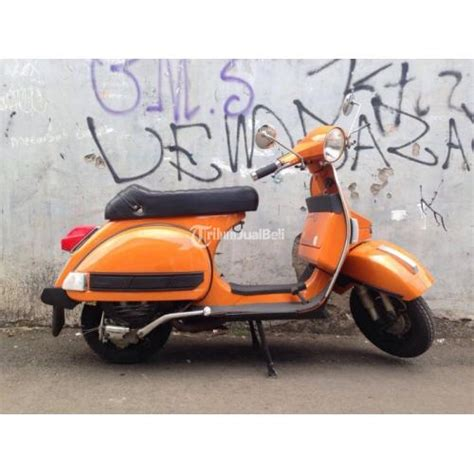 Modifikasi Vespa Px Exclusive by Vespa Exclusive 2 Tahun 1994 Surat Lengkap Modifikasi New
