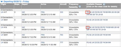 United Airlines Booking reminder lufthansa only releases first class award space