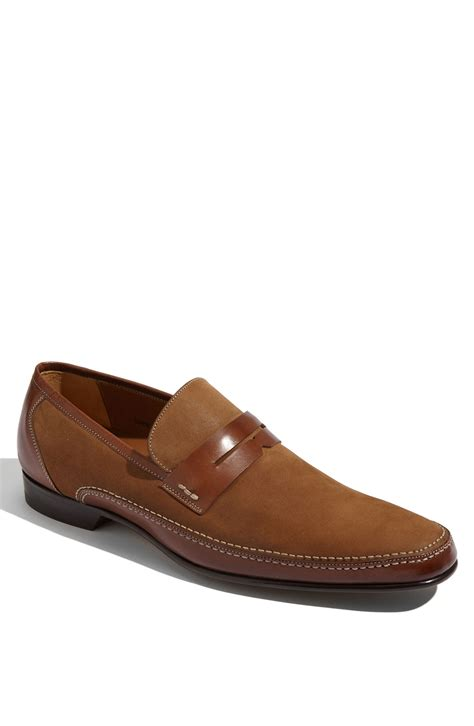 mezlan loafers mezlan ruskin loafer in brown for cognac lyst