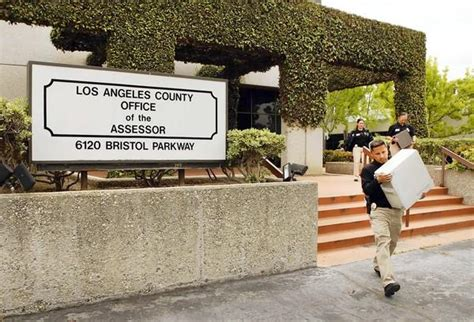 La County Property Records Letters The Assessor And Prop 13 Latimes