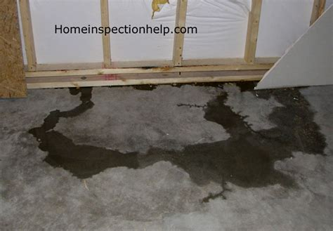 basement water leak