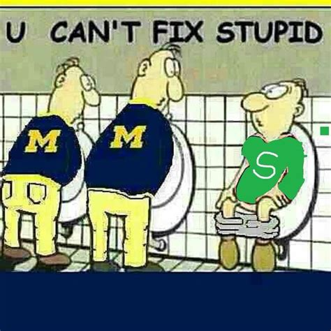 u of m fan u of m msu joke sports