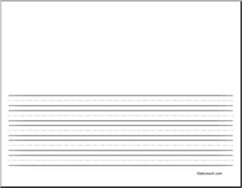 abcteach printable writing paper writing paper blank 48 pt landscape illustration