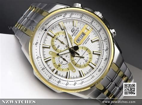 Casio Edifice Efr 556 Silver Blue buy casio edifice chronograph black gold mens efr 549sg 7av efr549sg buy watches