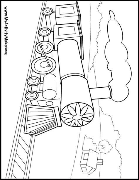 freight train coloring pages coloring home