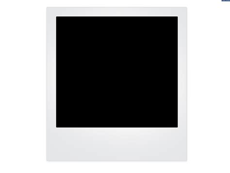 blank polaroid frame background psdgraphics