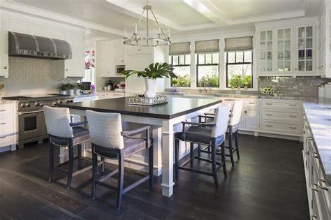 round kitchen island with seating round flatline chandelier asian kitchen martha o hara interiors
