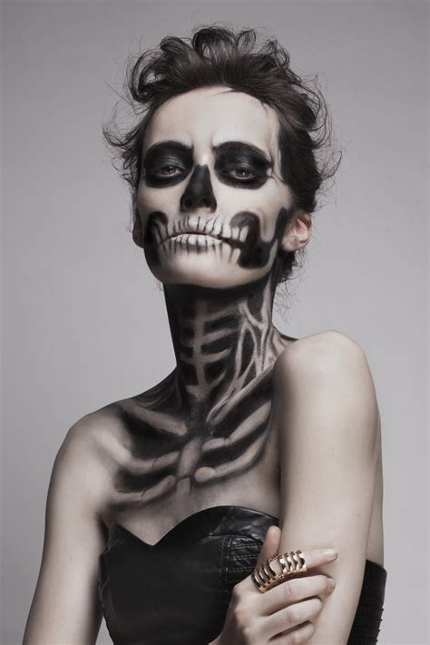 Makeup Sk Ll skeleton image 2261981 by marky on favim
