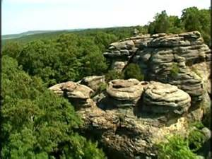 Kw Gardens White Rock Grand Shawnee National Forest Souther Doovi