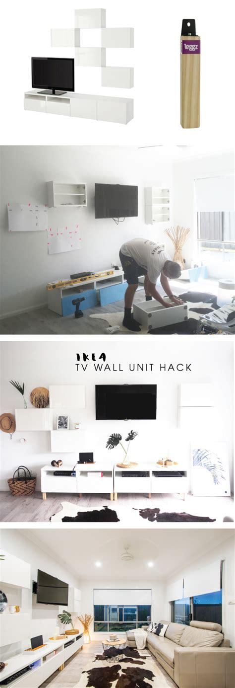 ikea wall unit hack monochrome ikea besta tv wall unit hack tomfo