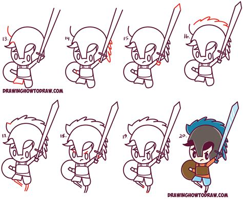 Drawing K On Style by How To Draw Percy Jackson Chibi Kawaii
