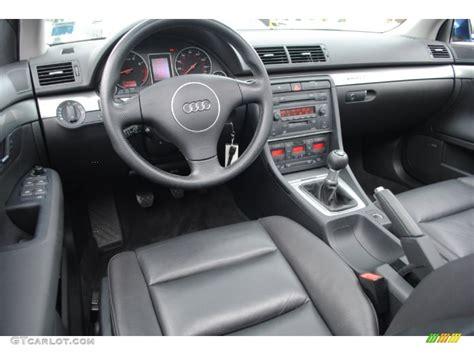 black interior 2004 audi a4 3 0 quattro sedan photo