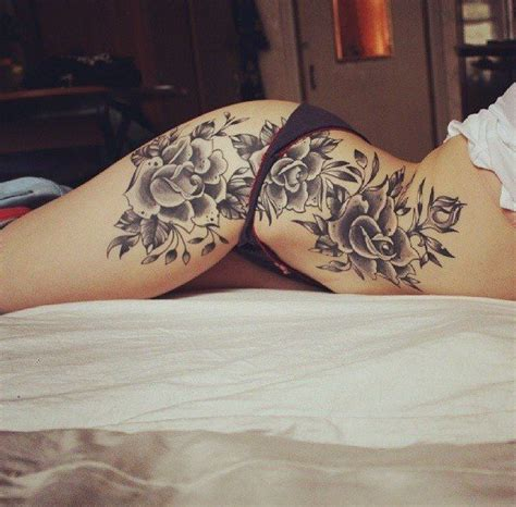 25 best ideas about hip tattoos on pinterest floral hip