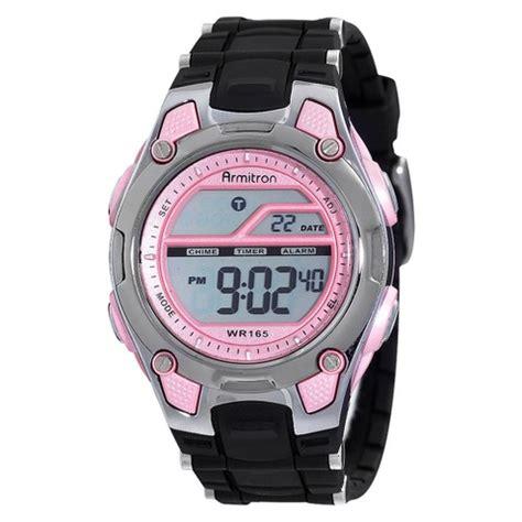 armitron 174 s digital sport pink target