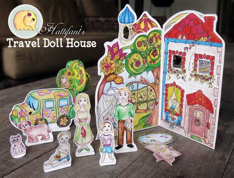 travel doll house hattifant s travel doll house hattifant