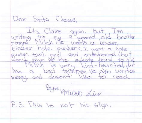 Parent Letter To Child About Santa Parenting Humor Letters To Santa